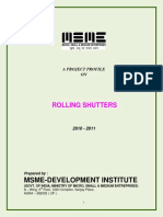 Rolling Shutters ssi project on economics