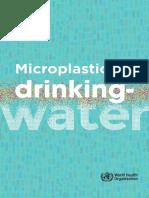 WHO on Microplastics