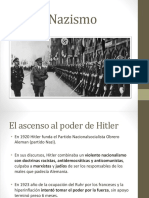 Power point sobre nazismo - nivel medio