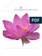 Ayurveda resort  Project for Bank Loan