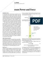 Shot Stream Power and Force by Prof. Dr. David Kirk
