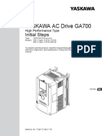 GA700 Parameter