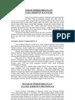 Sejarah Agama Kristen Protestan