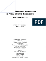 Deglobalization Ideas for a New World Economy