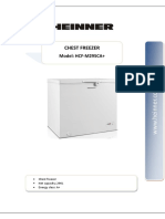 Manual lada frigorifica Heinner A+