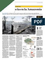 Emergencia en La Amazonía