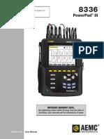 AEMC 8336 Manual