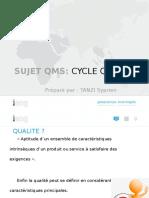 Qms Ppt (Cycle de La Qualite) - Cameroon - January 2017