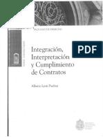 Integracion, Interpretación. Pp. 25-50