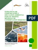 Estrategia y Comunicacion y Educacion Ambiental en Moquegua