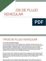 Modelos de Flujo Vehicular