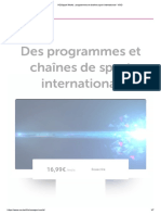 VOOsport World _ Programmes Et Chaînes Sport International - VOO
