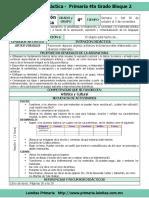 Plan 4to Grado - Bloque 2 Educación Artística (2017-2018)