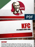 KFC COMPANY BACKGROUND