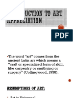 Introduction to Art Appreciation