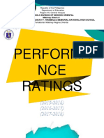 Coverpage for Performance Ratings