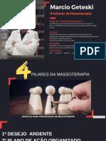 4 pilares massoterapia
