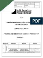 1910-119-PET17-033-Pruebas - Puesta en Marcha y Comisionamiento