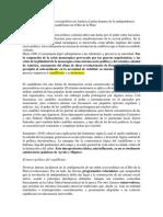 Ayorolo V. Reconstrucción del orden sociopolítico en América Latina despues de la independencia. Una reconsideración del caudillismo en el Río de la Plata