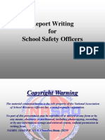 Report Writing for the SSO (1)