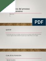 Dinamica Del Proceso Administrativo 245463546
