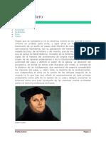 Biografia Martín Lutero - Consulta