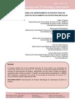Proposta de Modelo de Gerenciamento de Projetos