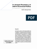 Economía, roussau