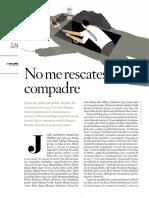 Gabriel Zaid. No me rescates compadre (Revista Letras Libres N° 178)
