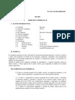 Mar1490silabo de Derecho Comercial II