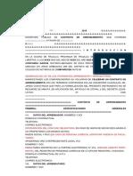 Formato Escritura Arrendamiento Para Futuro Desalojo Notarial Bajo Alcances de La Ley 30933