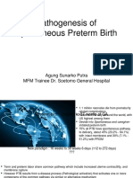 Pathogenesis of Preterm Labor