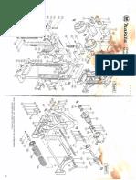 Makita Chain Mortiser Model 7104L Parts Diagram