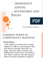 24905619 Competency Mapping Procedures and Steps