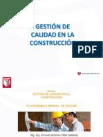 Gestión de calidad en la construcción