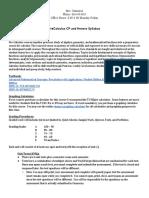 precalculus syllabus  2