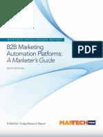B2B Marketing Automation Platforms
