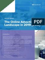 Online Advertising Landscape 2019