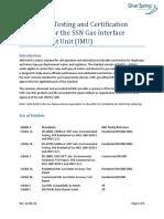pruebas y certificación SSN