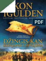 Conn Iggulden - Dzingis Kan 03 Konjanici Divljina