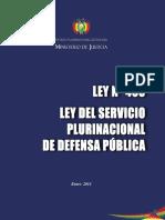 Ley 463 Def Publica