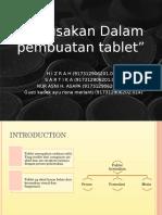 Kerusakan tablet