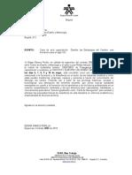 carta de aval de capacitacion España