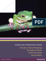 Principle of Animal Physiology[Christopher D. Moyes , Patricia Schulte] Principle Of