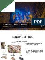 Identicación de Tipos de Roca