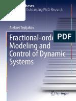 (Springer Theses) Aleksei Tepljakov (Auth.) - Fractional-Order Modeling and Control of Dynamic Systems-Springer International Publishing (2017)
