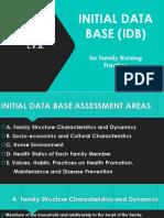 Initial Data Base