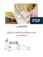 Guide to natural emulsifiers and preservatives