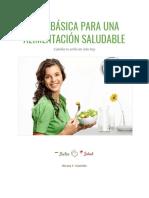 Guía Básica Para Una Alimentación Saludable