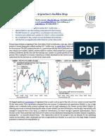 IIF Argentina's Sudden Stop
